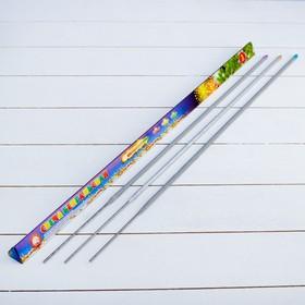 """Set sparklers """"Tsvetodelenie"""", 65 cm (3 PCs)"""