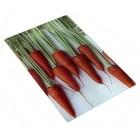 """доска разделочная стеклянная 20х30х0,4 см """"морковь"""" GC922 853-007"""