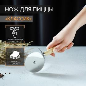 {{photo.Alt || photo.Description || 'Нож для пиццы и теста Доляна «Классик», 18,5 см'}}