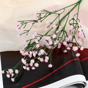 "Flowers PU ""Branch baby's breath"" 1*53 cm, pink"