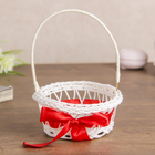 "Basket decorative ""bow and stick"""