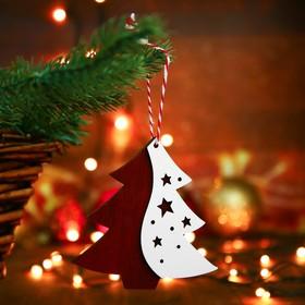 Christmas pendant Skazka 0.5x9x9 cm MIX