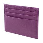 Визитница, 9,5 х 0,2 х 7,8 см, цвет сиреневый, серия Purpur