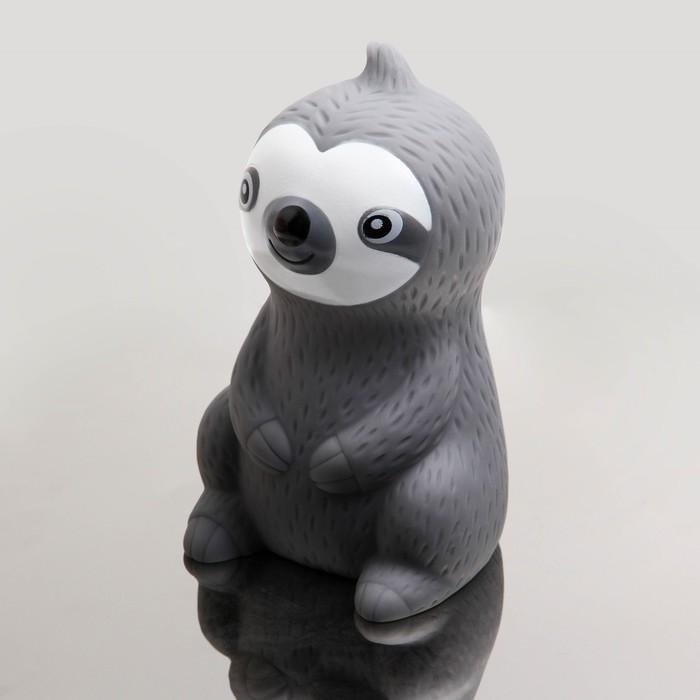 Игрушка для купания «Ленивец», цвет МИКС - фото 105535772