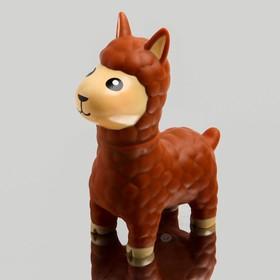 Игрушка для купания «Лама», с пищалкой, цвет МИКС