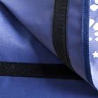 "Сумка-органайзер для коляски и санок ""Little Star"", цвет синий - фото 107086164"