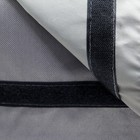 """Сумка-органайзер для коляски и санок """"Перья"""", цвет серый - фото 105545927"""