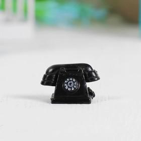 Миниатюра кукольная «Телефон», набор 2 шт, размер 1 шт: 2,5×1,5×1,6 см