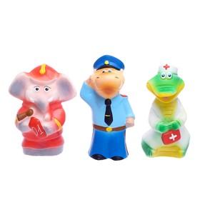 Набор резиновых игрушек «112»