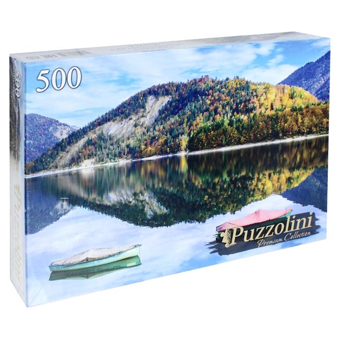 Пазл 500 элементов «Германия. Озеро Сильвенштайн»