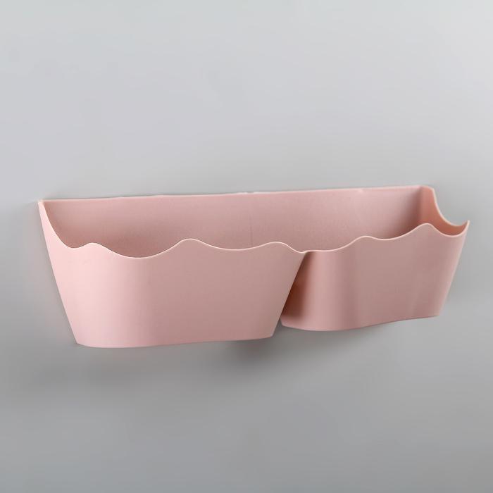 Подставка для обуви настенная 25,5х8х7,5 см цвет МИКС