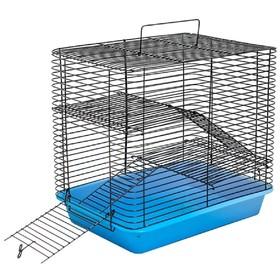 """Клетка для грызунов """"Дилон-3"""" с 2-я этажами, без наполнения, 33 х 24 х 30 см, микс цветов"""
