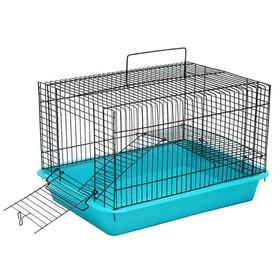"""Клетка для грызунов """"Гоша-2"""" с этажом, без наполнения, 33 х 24 х 20 см, микс цветов"""