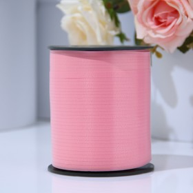 Ribbon for decorations and gifts, light pink, 0,5 cm x 500 m