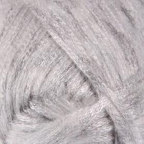"""Пряжа """"Melody"""" 9% шерсть, 21% акрил, 70% полиамид 230м/100гр (881 серебристый)"""