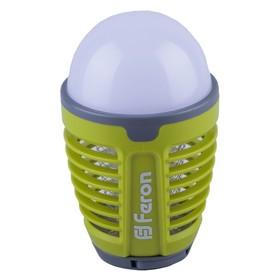 Светильник светодиодный TL850, 5Вт, USB, 4000К, цвет зелёный, антимоскитная сетка 1000В Ош