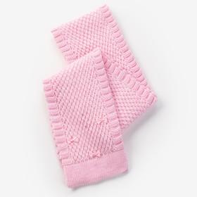 Шарф для девочки, размер 140х14см, цвет розовый