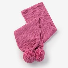 Шарф для девочки, размер 140х16см, цвет сиреневый