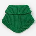 Шарф-манишка для мальчика, размер 3-6 лет, цвет зеленый - фото 76214029
