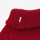 Шарф-манишка для девочки, размер 3-6 лет, цвет красный - фото 105568041