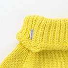 Шарф-манишка для девочки, размер 3-6 лет, цвет лимон - фото 105568001