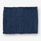 Шарф-снуд для мальчика, размер 48х18 см, цвет джинс