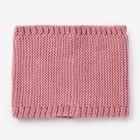 Шарф-снуд для девочки, размер 48х18, цвет пудра