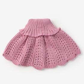 Манишка для девочки, цвет сиреневый, возраст 2-4 года