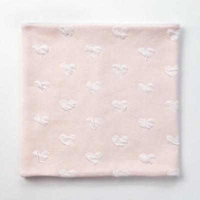 Шарф-снуд для девочки, размер 52х27, цвет кремовый