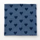 Шарф-снуд для девочки, размер 52х27, цвет синий