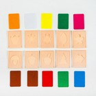 Логическая головоломка «Времена года» из фетра, 10 штук - фото 105532678
