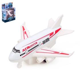 Самолёт металлический «Лайнер», инерционный, МИКС