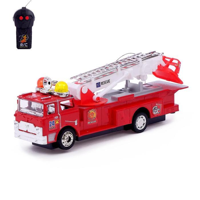 Машина радиоуправляемая «Пожарная охрана», работает от батареек