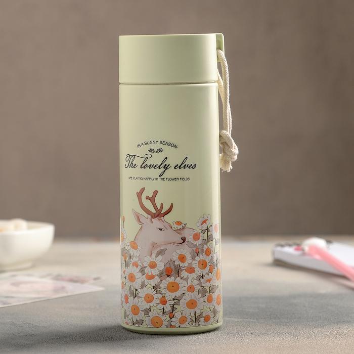 Бутылка «Весна в лесу», 420 мл, цвет и рисунок МИКС