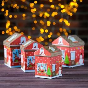Набор коробок 4в1 «Пряничный дом» , 14 х 14 х 17- 9 х 9 х 14 см в Донецке