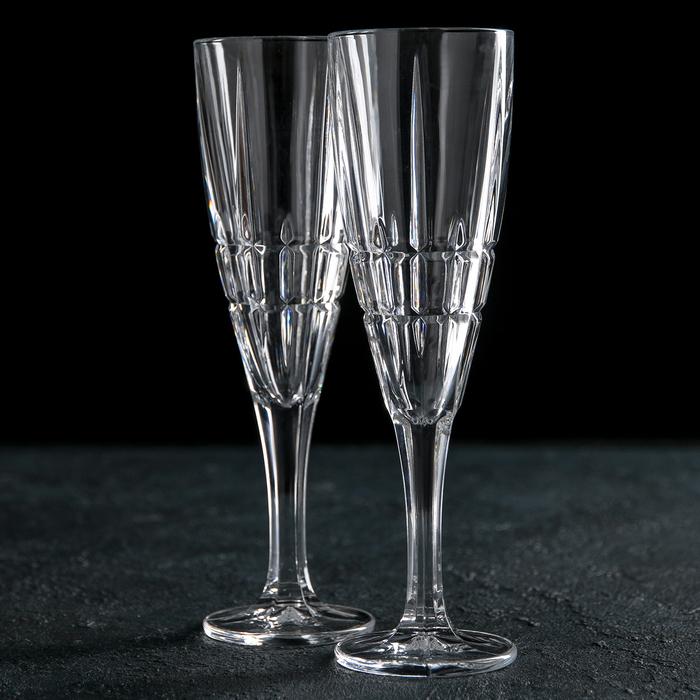 Набор бокалов для шампанского 180 мл Dover, 2 шт