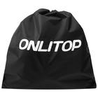 Bag for sports equipment 38з38 cm, color black