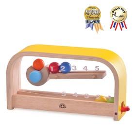 Деревянная игрушка «Учимся считать весело»
