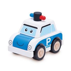 Деревянная игрушка-конструктор Miniworld «Полицейская машина»