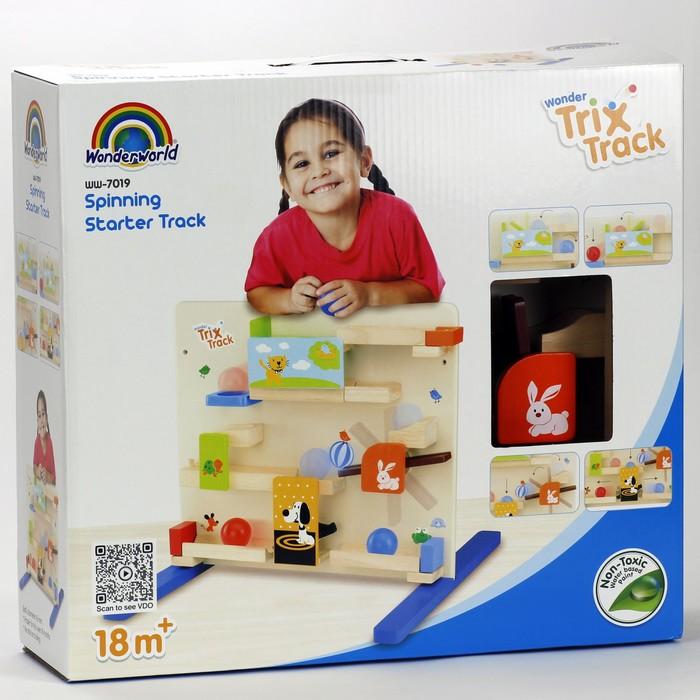 Конструктор динамический Trix-Track «Трек для малышей с воронкой» - фото 29461221