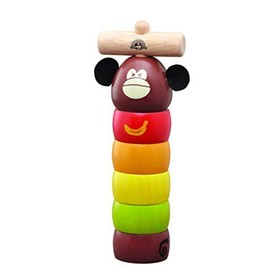 Логическая игрушка-стучалка «Обезьянка»