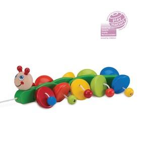 Деревянная игрушка «Гусеничка»