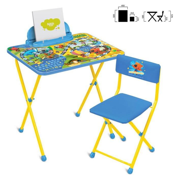Комплект мебели «Ми-ми-мишки»: стол, стул мягкий, цвета МИКС