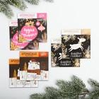 Набор аромасаше «Новогоднее волшебство», шоколад, лесные ягоды, ваниль, 6 шт.