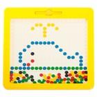 Планшет-мозаика магнитный для рисования «Пуговки», 266 ячеек - фото 105600268
