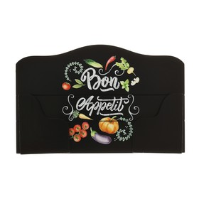 """Держатель для полотенец """"Bon Appetit"""" 28,5 х 18 см - фото 4648409"""