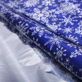 Плёнка упаковочная голография «Снежинки», 100 × 70 см в Донецке