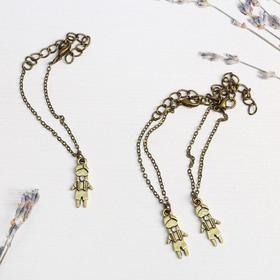 """A set of bracelets for children """"the Boy"""" 3 PC., brass"""