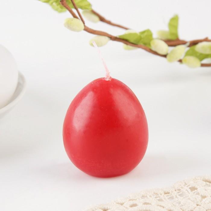 Свеча-яйцо с картинкой «Со светлой Пасхой!»