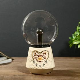 """Плазменный шар """"Декор"""" 12х12х22 см."""